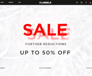 Flannels Discount Codes Vouchers April 2019